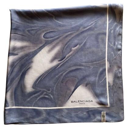 Balenciaga sciarpa di seta