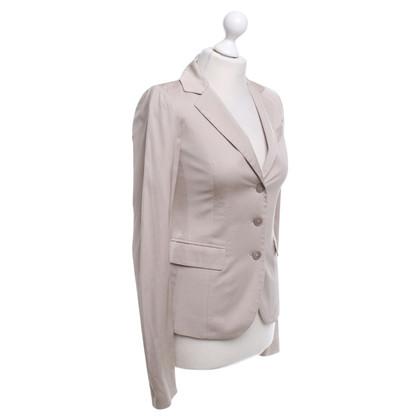 Patrizia Pepe Classic blazer in beige / grey