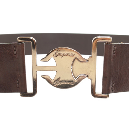 Armani riem Brown