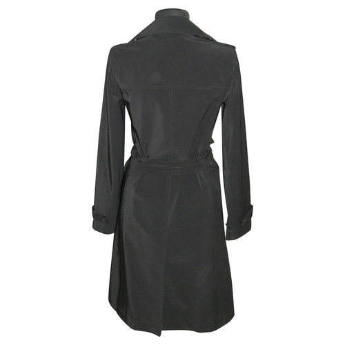 7f7065e472a Theory Trench coat in black - Second Hand Theory Trench coat in ...