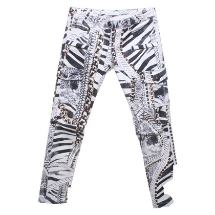 Balmain Jeans with allover print