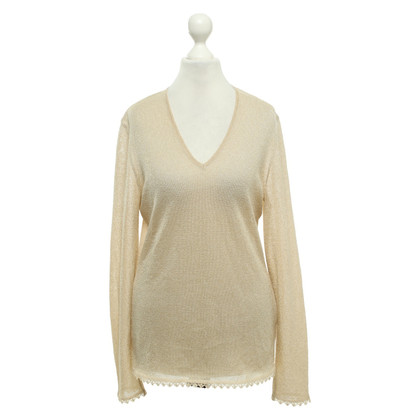 Versace Gold-colored pullover
