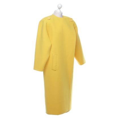 Oscar de la Renta Coat in yellow