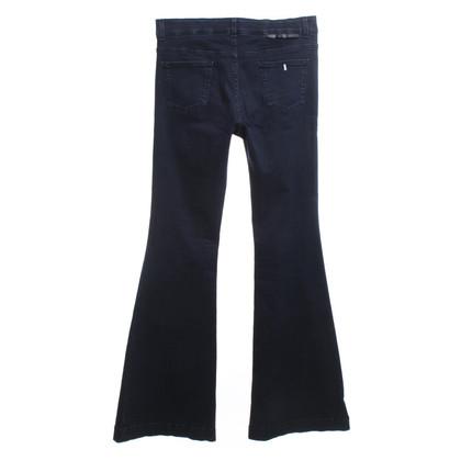 Stella McCartney Flared jeans in dark blue