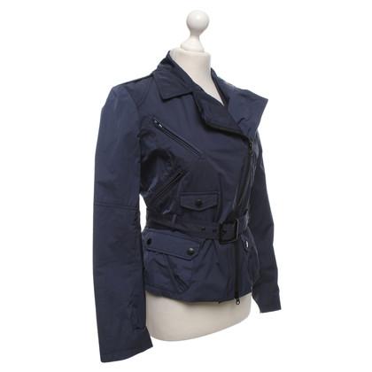 Blauer USA Sportive Jacke in Dunkelblau