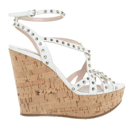 Miu Miu Wedges with cork soles