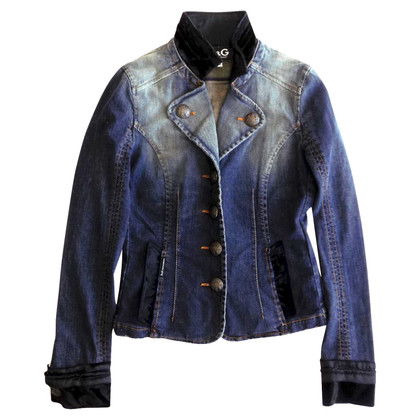D&G Jeans jacket in military style