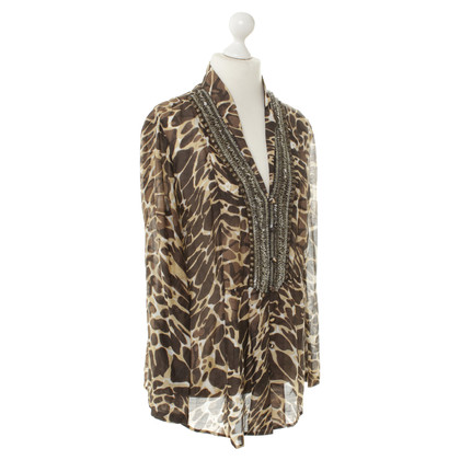 Laurèl Animal print tunic