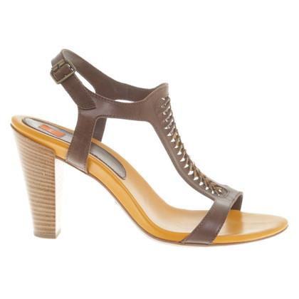 Hugo Boss Sandals in brown