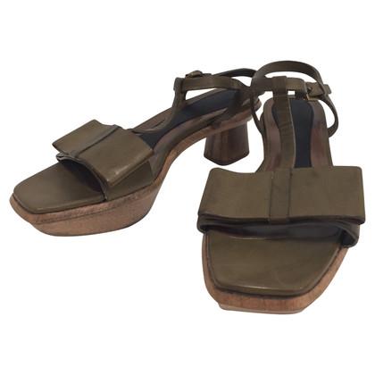 Marni Wood sandals
