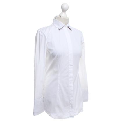 Brunello Cucinelli Bluse in Weiß