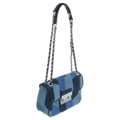 Michael Kors Borsa patchwork denim