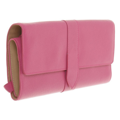 Smythson clutch in Pink