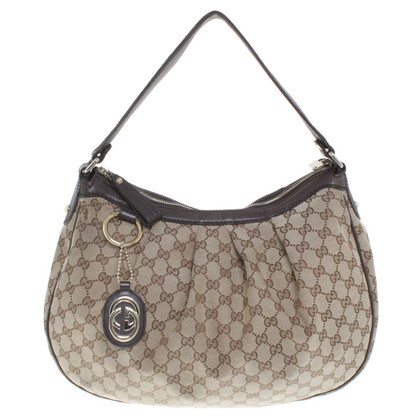Gucci Hobo bag with Guccissima pattern