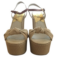 "Michael Kors Sandals ""Benji"" with wedge heel"