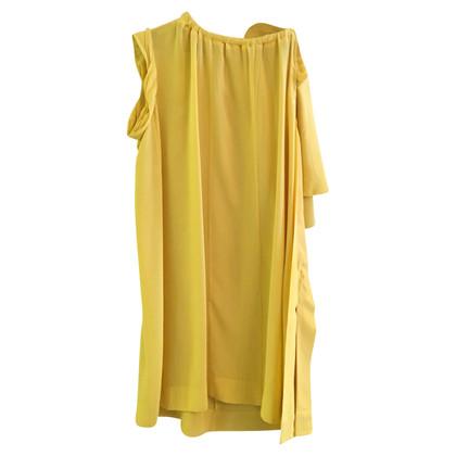 Prada Prada yellow dress