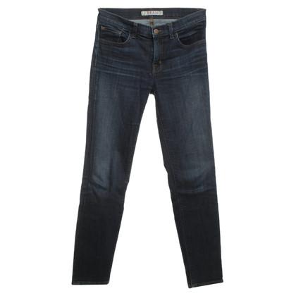 J Brand Dunkelblaue Skinny Jeans