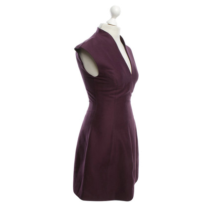 Halston Heritage Cocktail jurk in aubergine