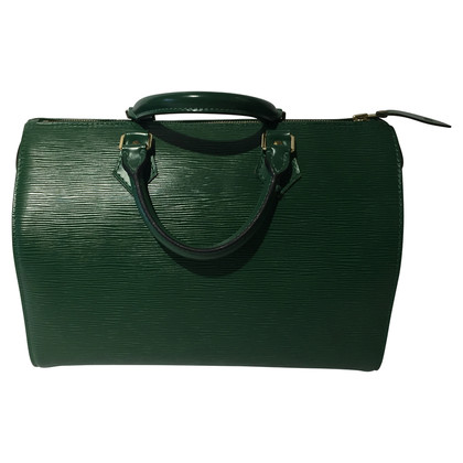 "Louis Vuitton ""Speedy 35 EPI ' in verde"
