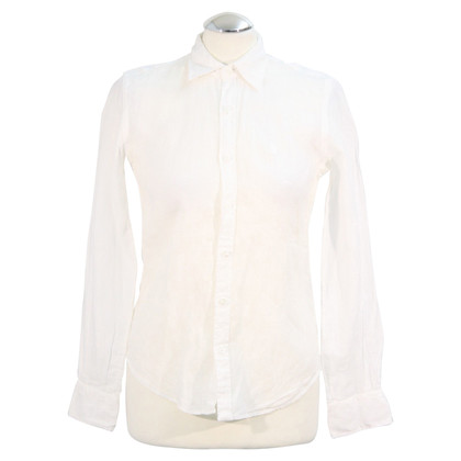 Ralph Lauren Linen blouse in white