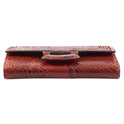 Gucci Python leather wallet
