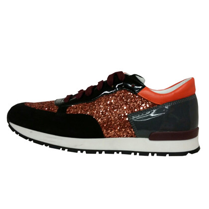 Pollini Material mix sneakers