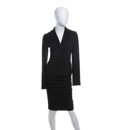 Dolce & Gabbana Costume of blazers and skirt in black