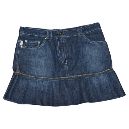 Moschino denim mini skirt