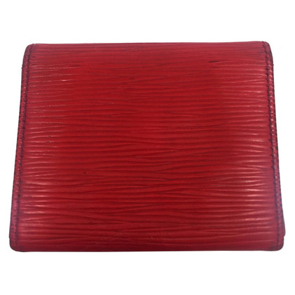Louis Vuitton Wallet made Epileder in Red