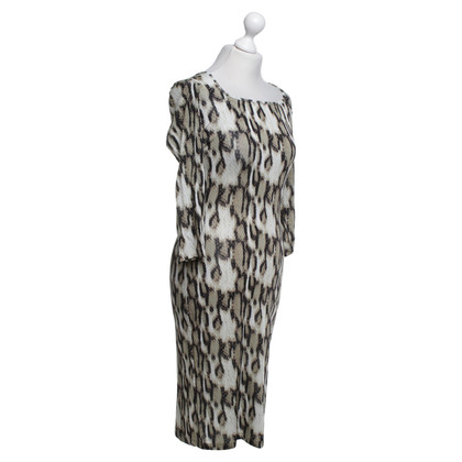 Just Cavalli Snake pattern dress