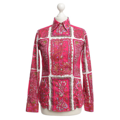 Etro Blouse with multicolored patterns