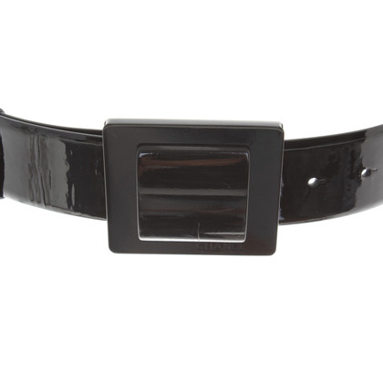 Chanel Belt made of patent leather