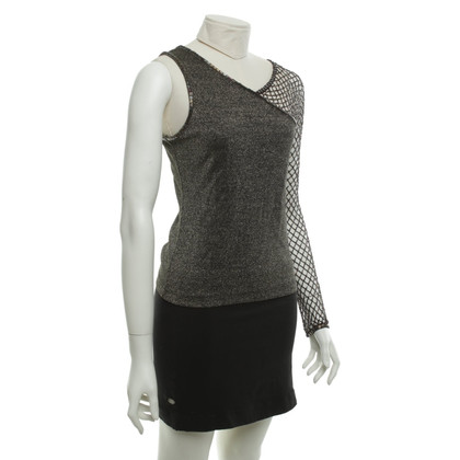 Karen Millen top with metallic details