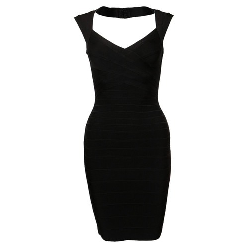 94cf94c31cd8 Hervé Léger Dress in Black - Second Hand Hervé Léger Dress in Black ...
