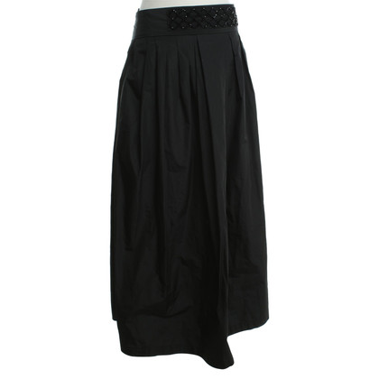 Max Mara Langer skirt in black