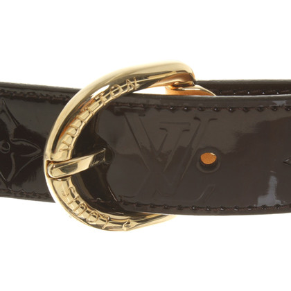 Louis Vuitton Patent leather belt