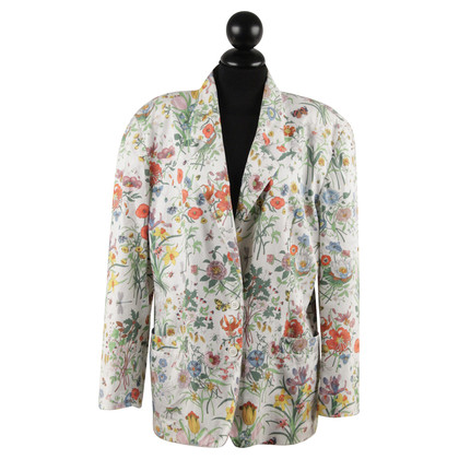 Gucci Blazer with a floral pattern