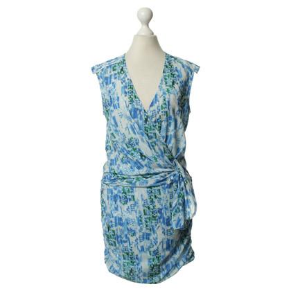 Iro Gedessineerde jurk