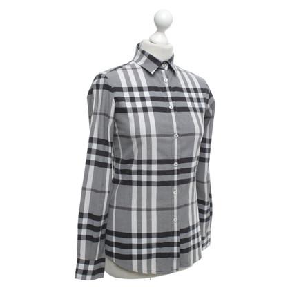 Burberry Bluse mit Karo-Muster