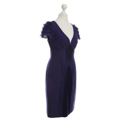 Karen Millen Schede jurk in paars