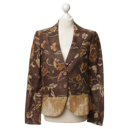 Etro Blazer with a floral pattern