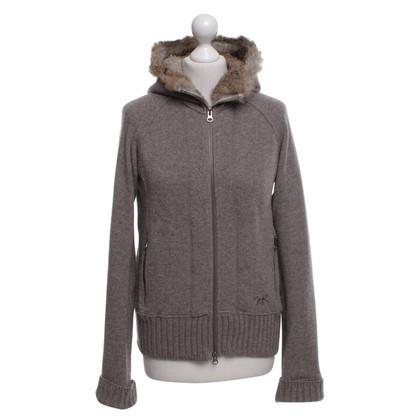 Woolrich giacca con cappuccio in beige-marrone