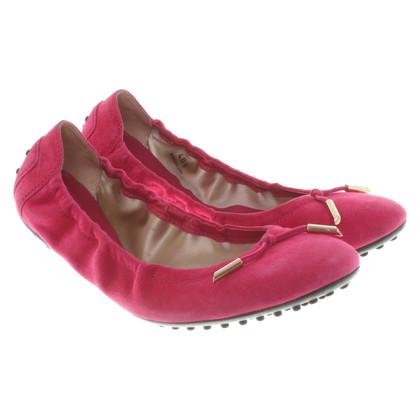Tod's Ballerina's in roze