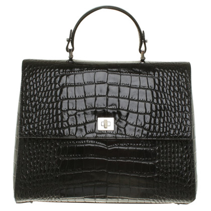 Hugo Boss Leather handbag embossed