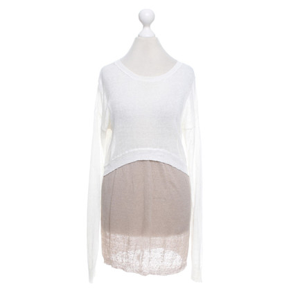 Stefanel Two-color knitted top