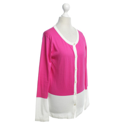 Allude Vest in Roze / Wit