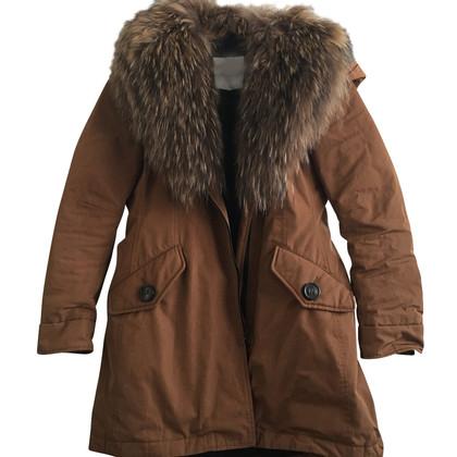 Moncler Jacket with fur collar