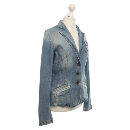 Marc Cain Jeans Blazer in Blue