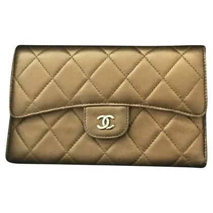 Chanel Chanel Bronze Lambskin Wallet