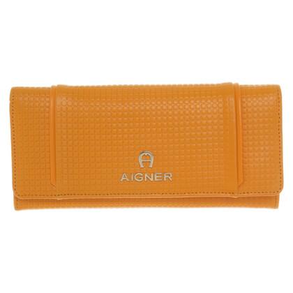 Aigner Wallet in oranje